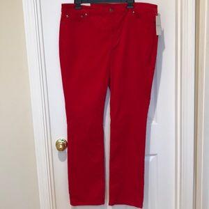 Lauren Ralph Lauren Size 16/33 Premier Straight